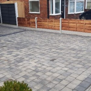 Tegular stone driveway manchester
